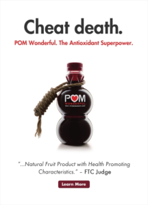 legal news for consumers, pom wonderful, ftc