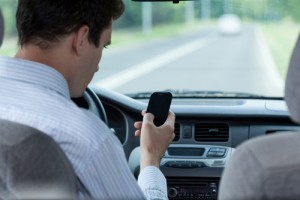 Reading or sending a text takes a drivers eyes off the road for almost five seconds, enough time to drive a football field length of road.