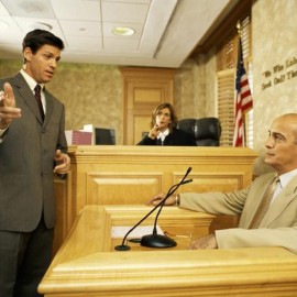 witness in court