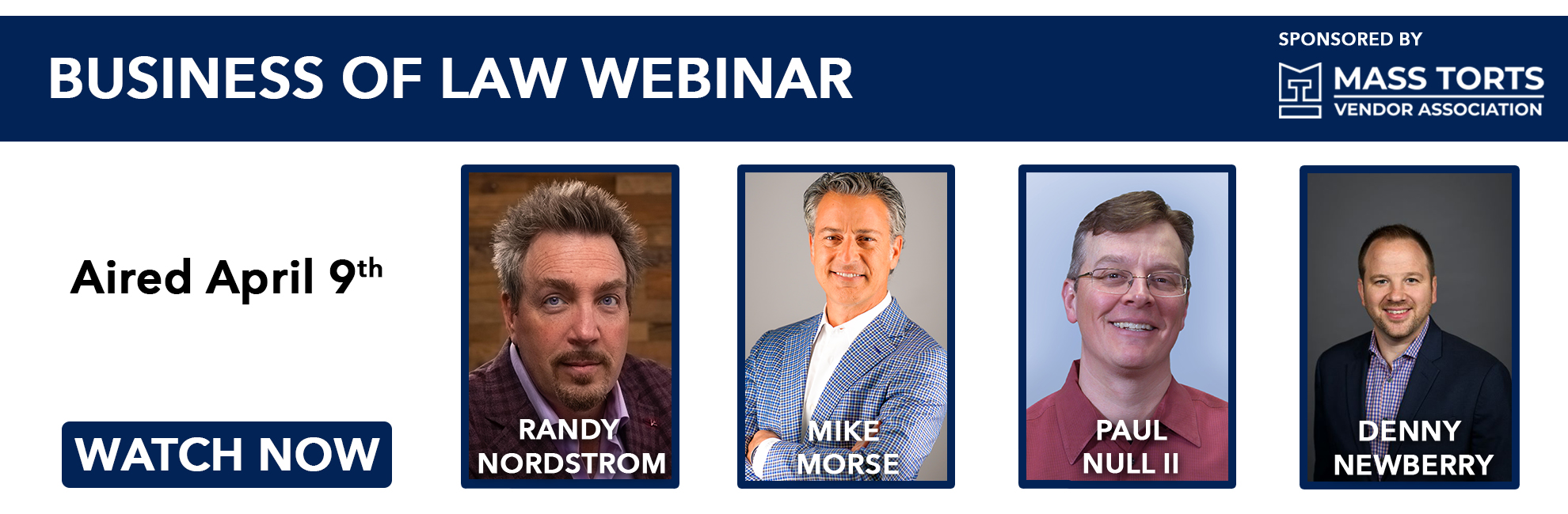 April 9th, 2020 - Business of Law Webinar