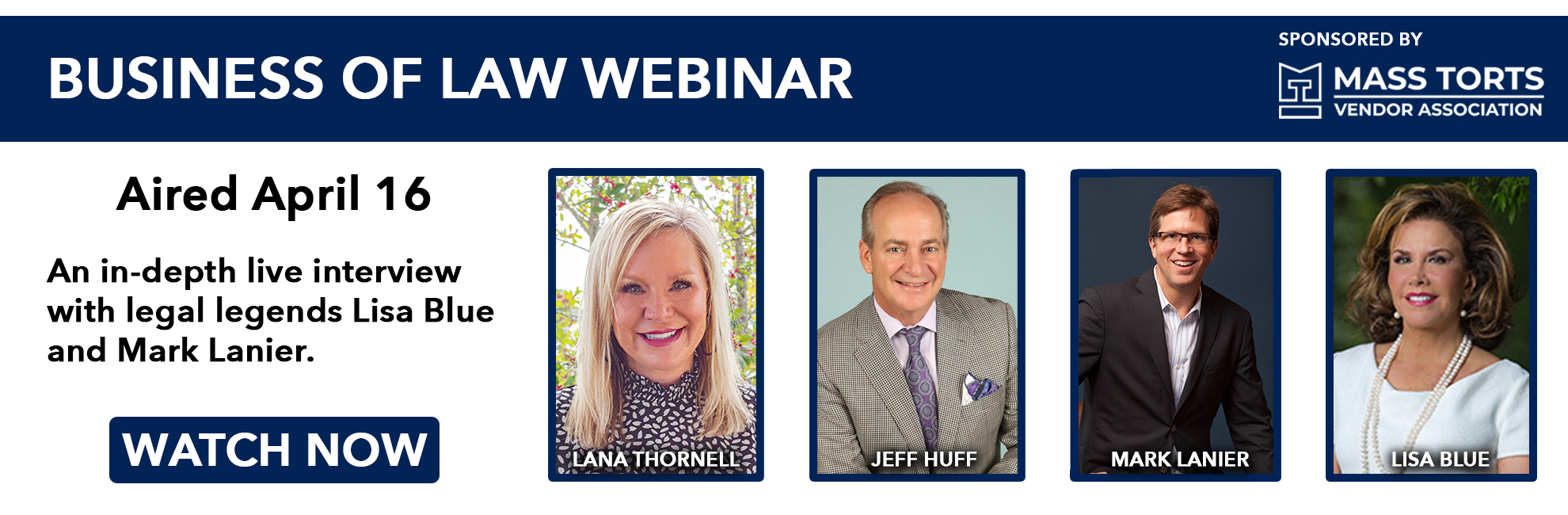 April 16th, 2020 - Business of Law Webinar